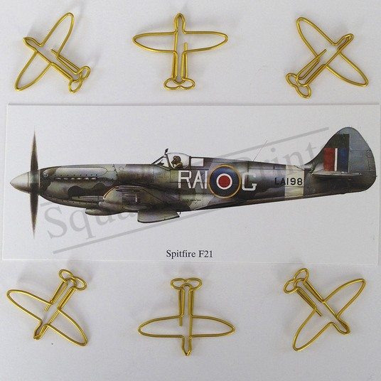 Spitfire Paperclips Gold SALE